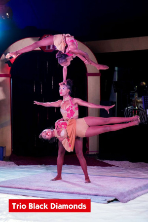 Trio Black Diamonds – acrobaties