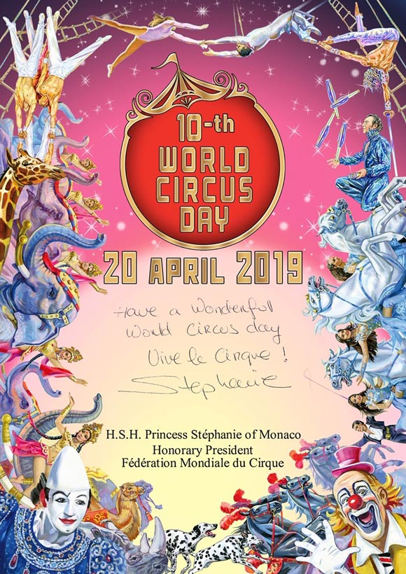 World Circus Day 2019 | April 20