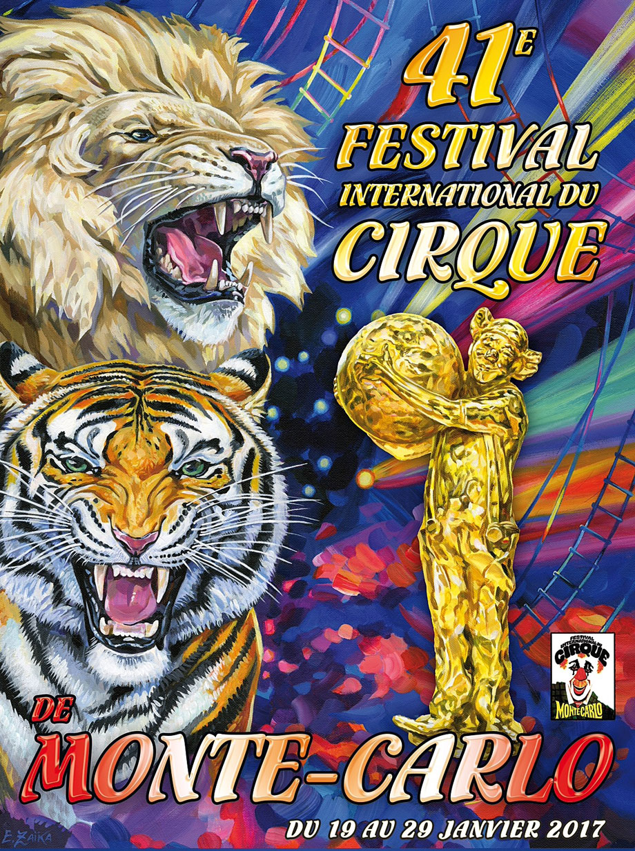 Poster of the 41st Monte-Carlo International Circus Festival 2017