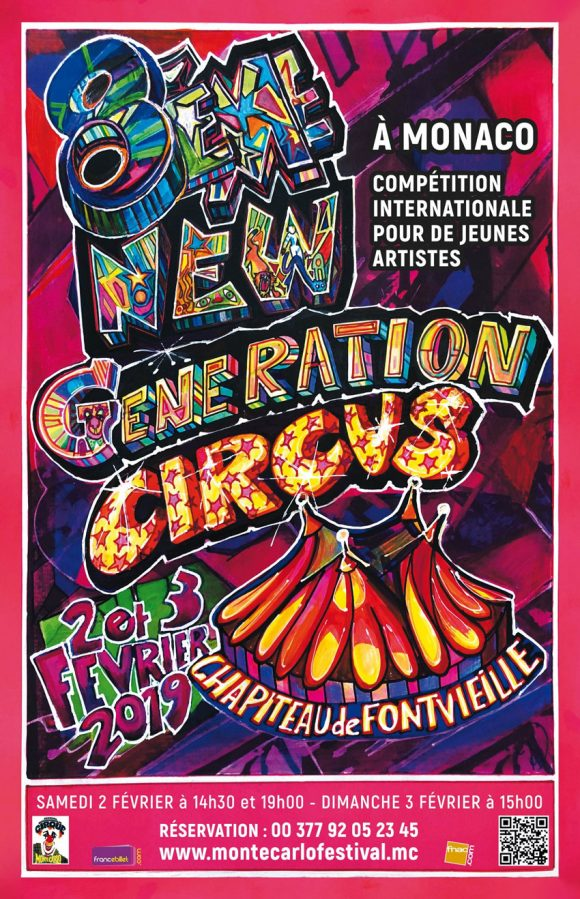 Affiche New Generation 2019 | Poster New Generation 2019